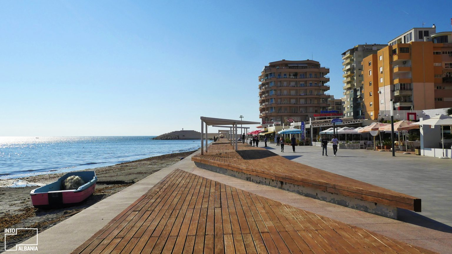 Vollga Promenade, Durrës, photo by IntoAlbania