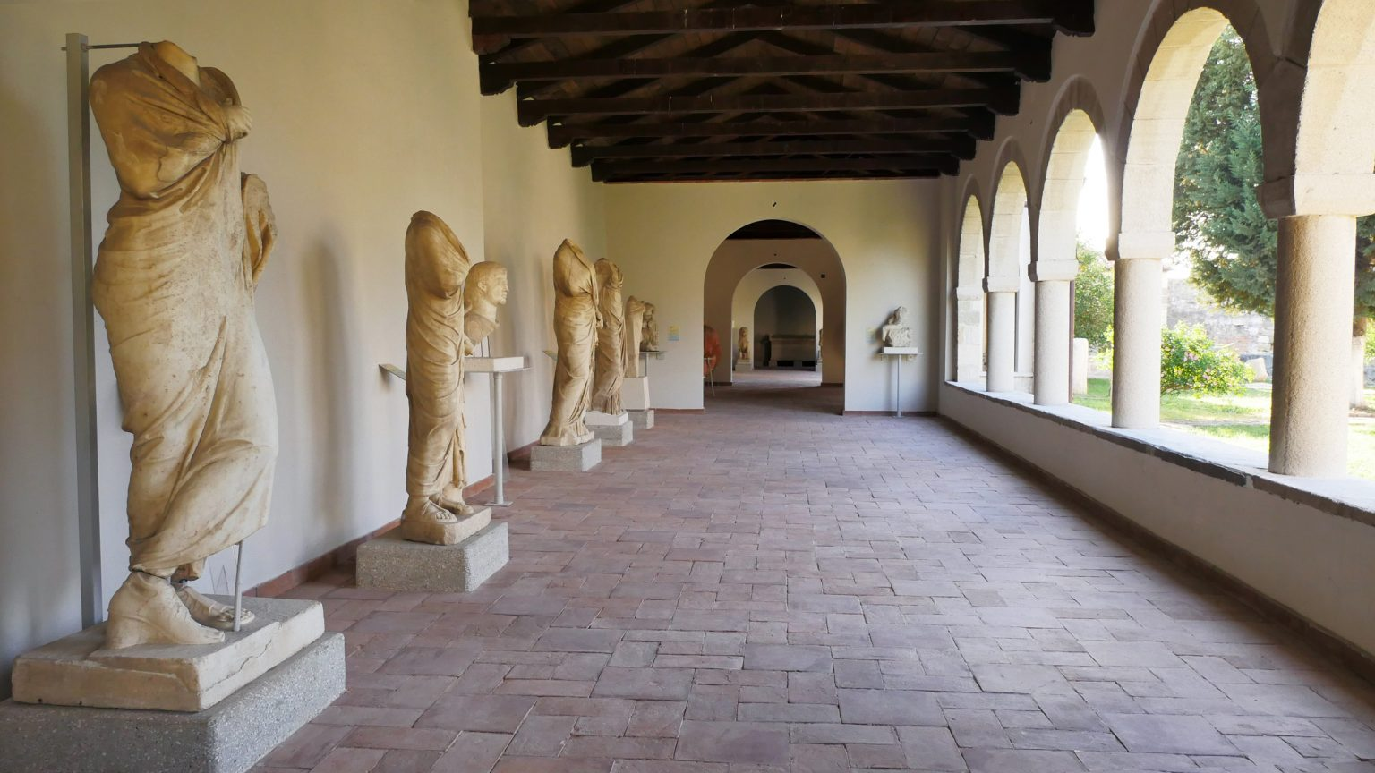 Archaeological Museum of Apollonia, located inside the Monastery, photo by IntoAlbania.
