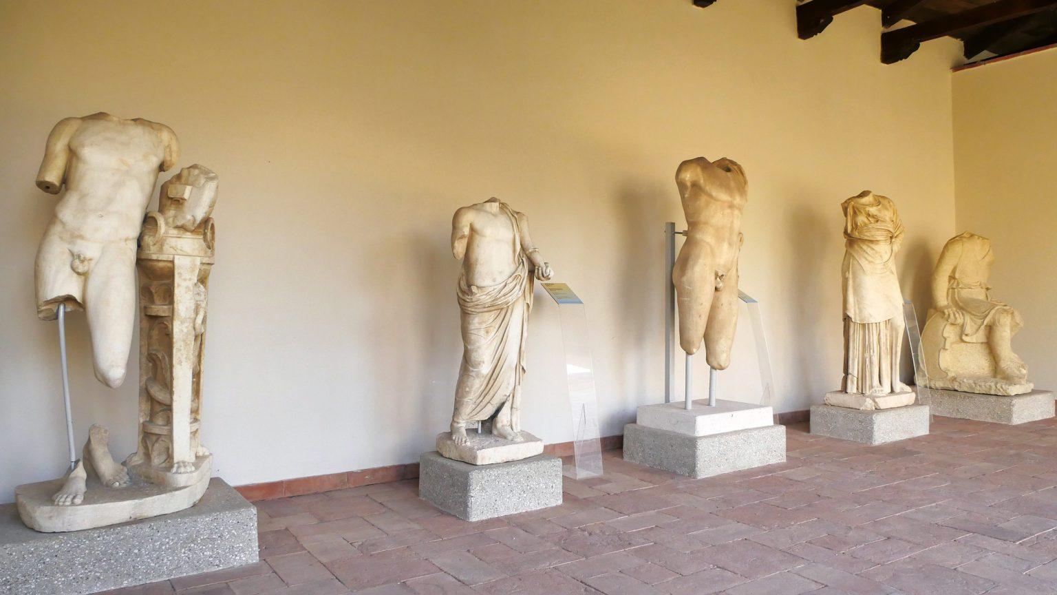 Muzeu Arkeologjik në Apolloni, foto nga IntoAlbania.