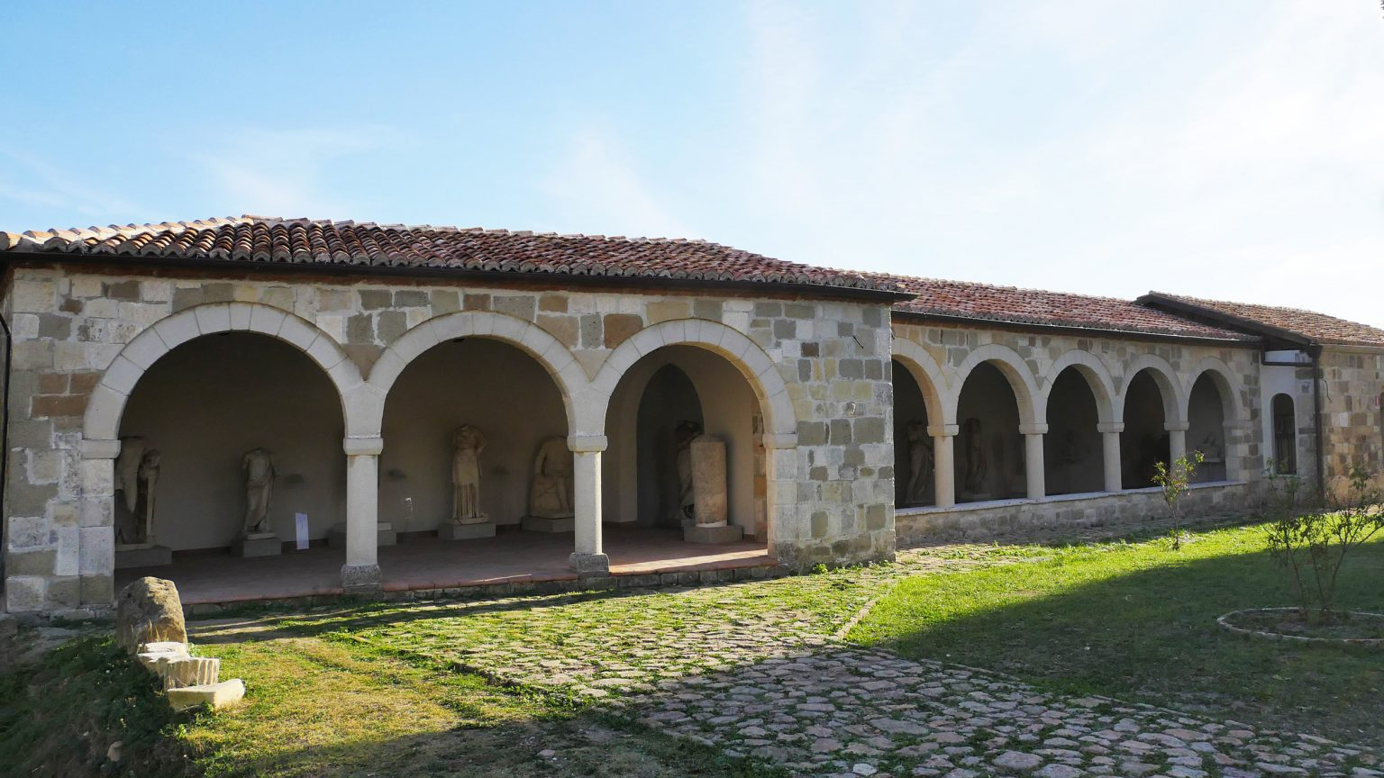 Archaeological Museum of Apollonia, photo by IntoAlbania.