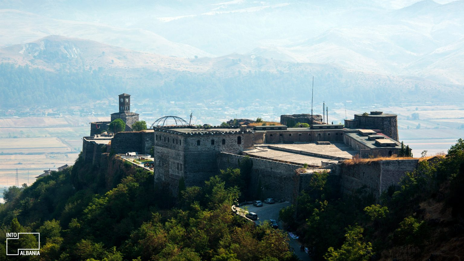 Castle of Gjirokastra, Courtesy of Egzon Bytyqi instagram.com/egzonbytyqiphoto/