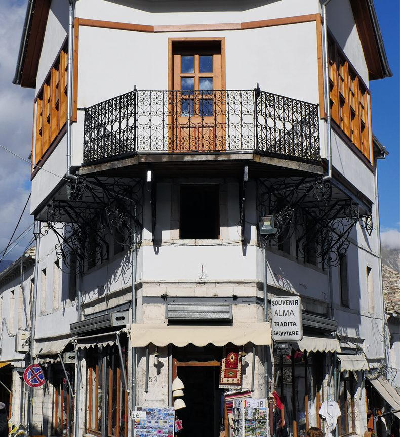 bazaar of gjirokastra
