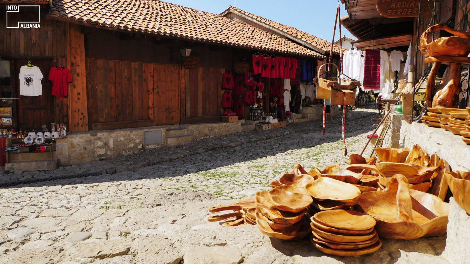 old bazaar albania