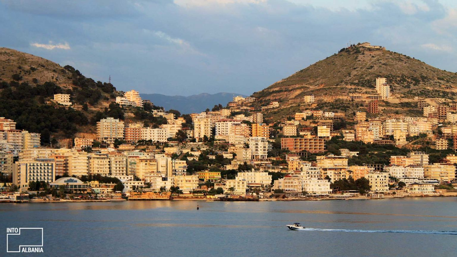 Saranda City, Sea, South Albania