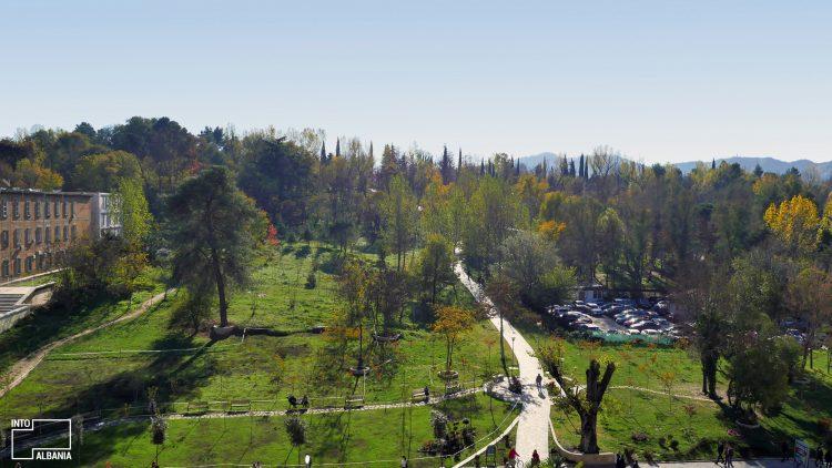 The Grand Park in Tirana