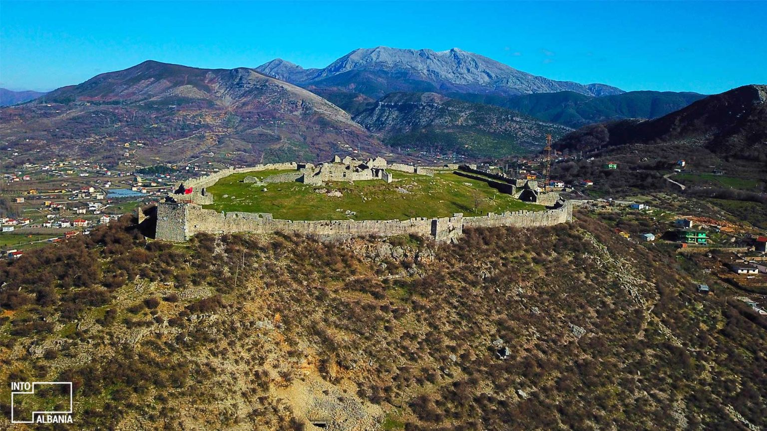 Castle of Lezha, Photo Credits: Fation Plaku