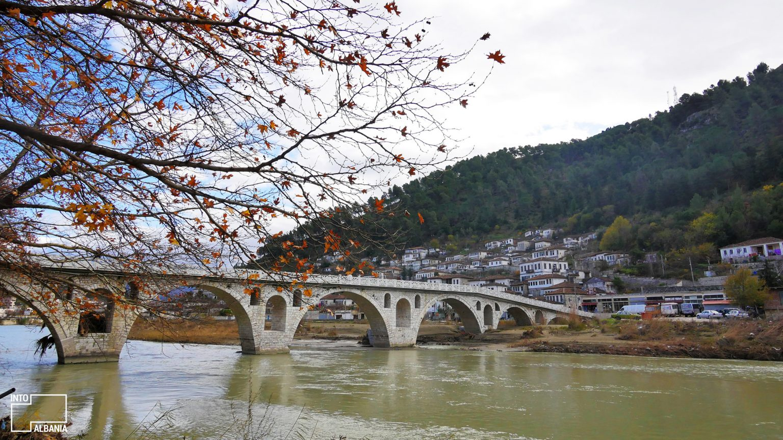 Bridge of Gorica, Berat, photo by IntoAlbania