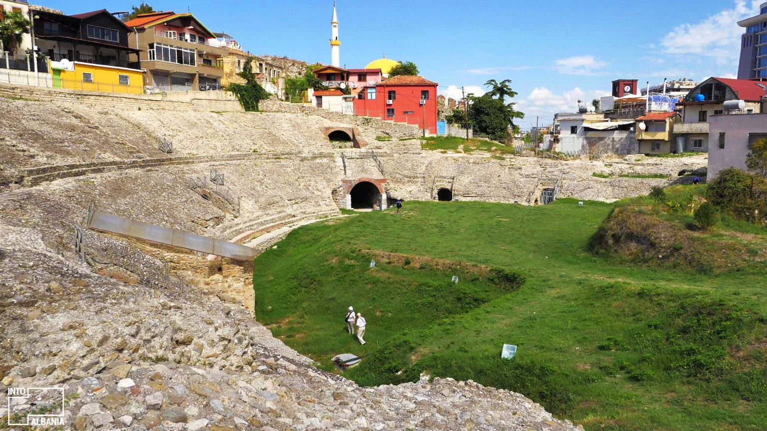 Amphitheater of Durrës, photo by IntoAlbania
