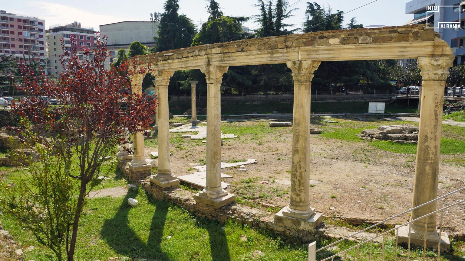 Byzantine Forum in Durrës, photo by IntoAlbania.