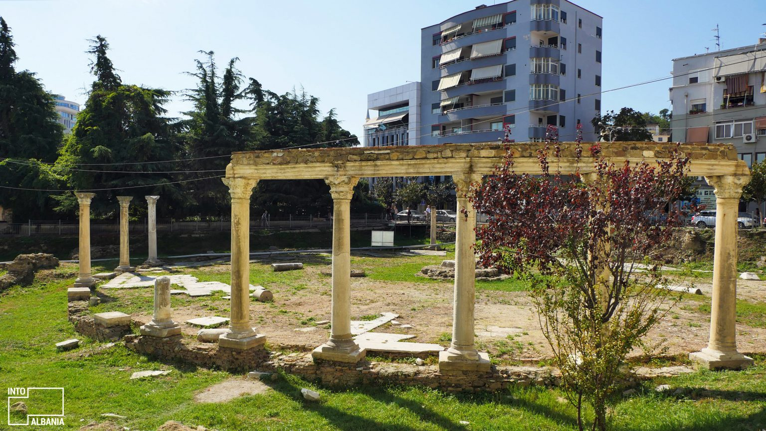Byzantine Forum in Durrës, photo by IntoAlbania