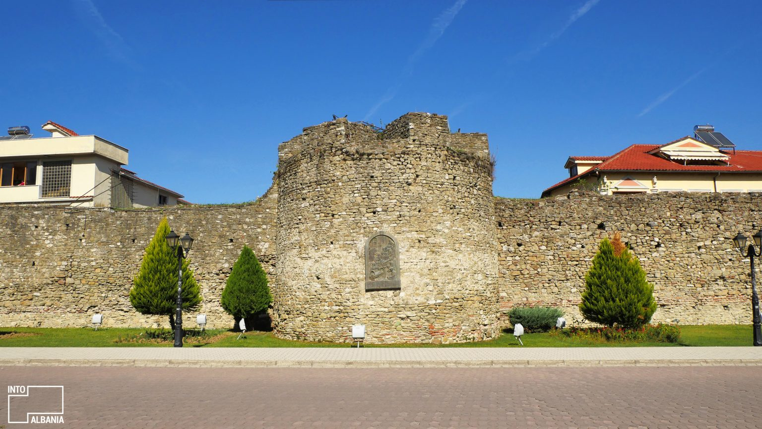 Castle of Elbasan, photo by IntoAlbania