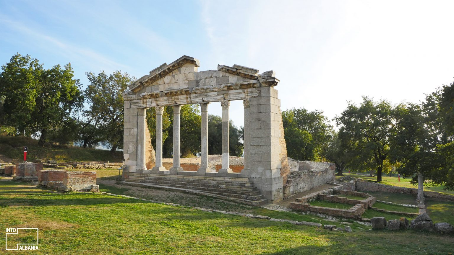 The Buleuterion, Archeological Park of Apollonia, Fier, photo by IntoAlbania
