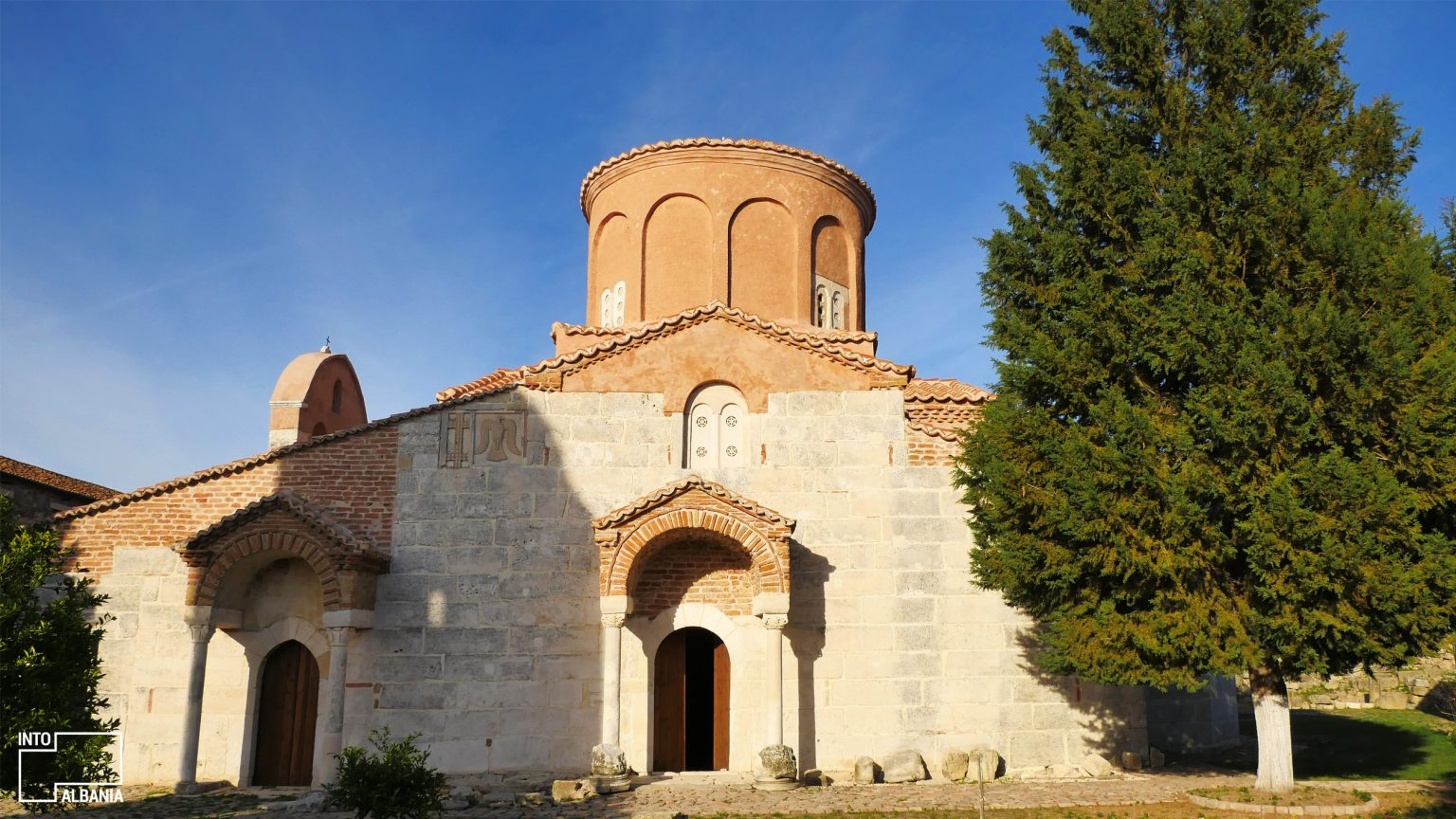 Church of St. Mary, Archeological Park of Apollonia, Fier, photo by IntoAlbania
