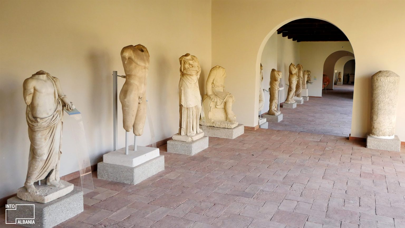 Archeological Museum of Apollonia, Fier, photo by IntoAlbania
