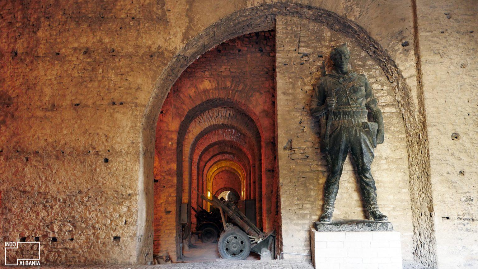 Great Gallery inside Castle of Gjirokastra, photo by IntoAlbania