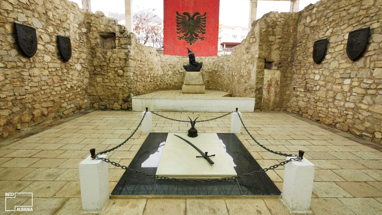 Memorial of Skanderbeg, Lezha, photo by IntoAlbania