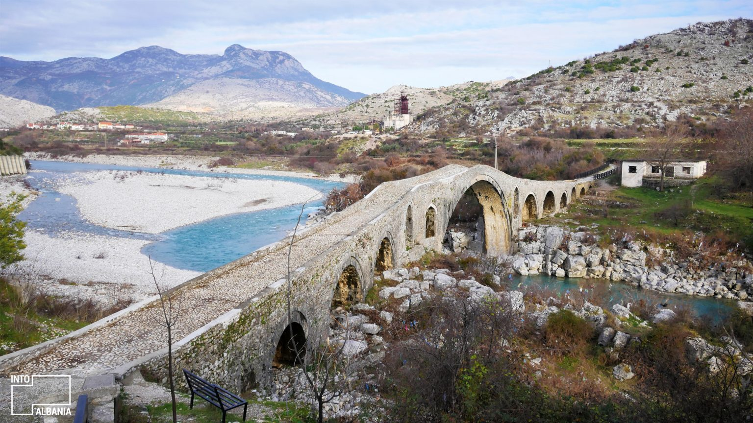 The Mesi Bridge, Shkodra by IntoAlbania