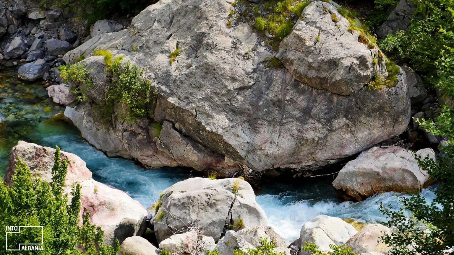 River of Theth, Shkodra, photo by IntoAlbania