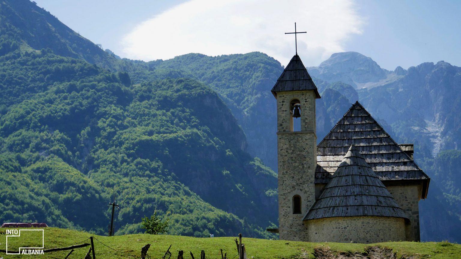 Church of Theth, Shkodra, photo by IntoAalbania.