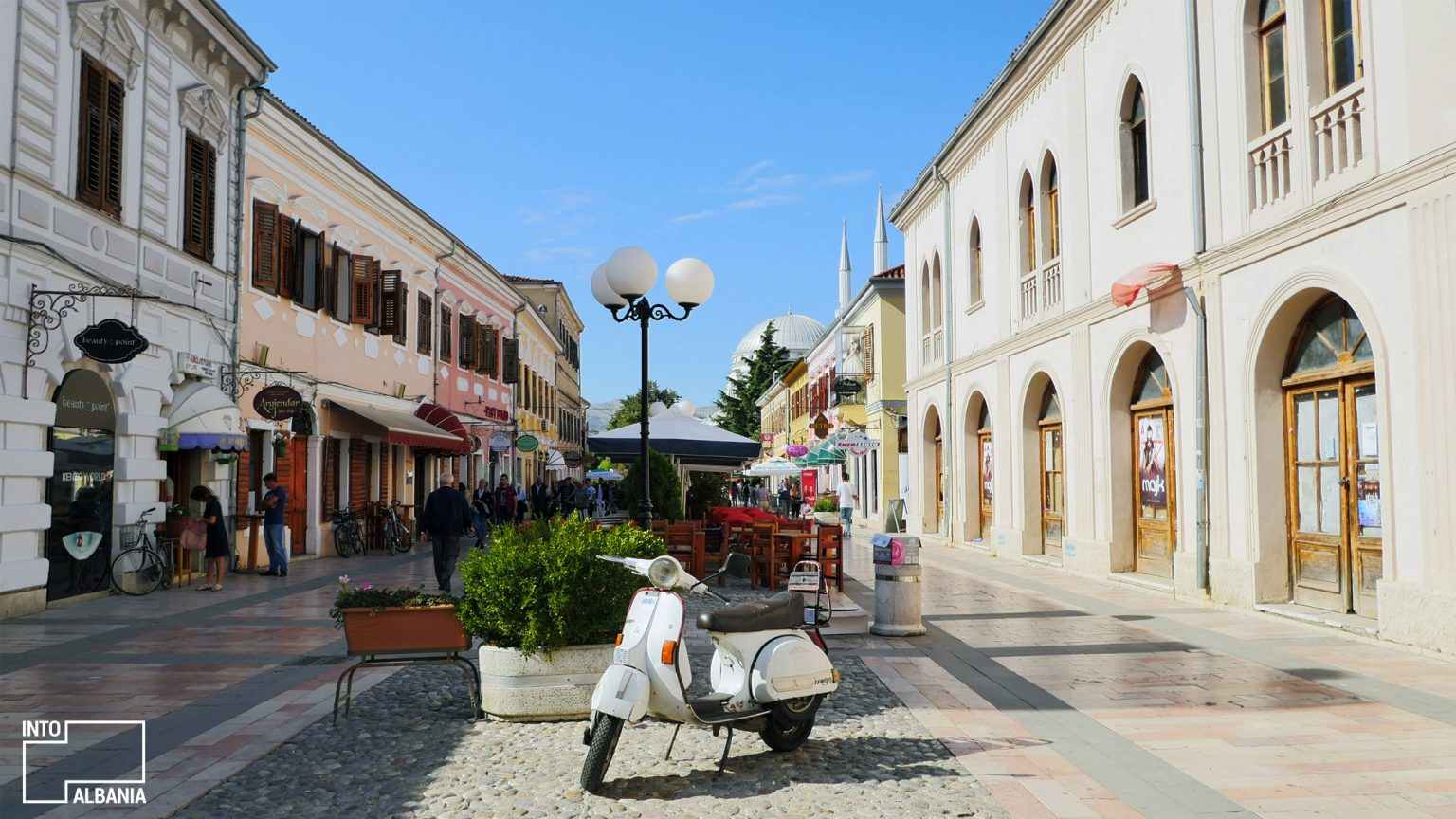 Shkodra Promenade, photo by IntoAlbania.