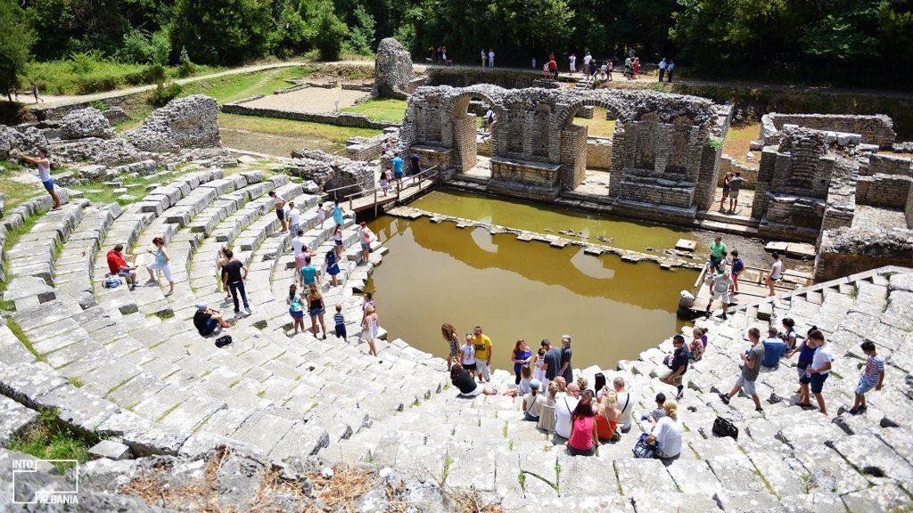 Butrint Archaeological Park, Saranda. Photo by IntoAlbania.