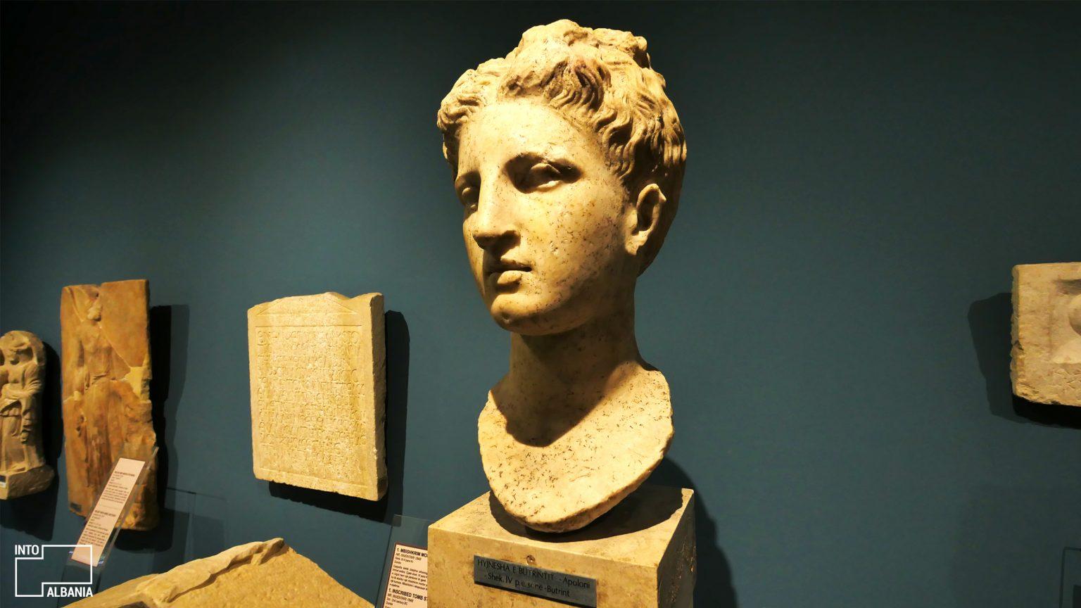 Dea of Butrint, National Museum of History, Tirana, photo by IntoAlbania