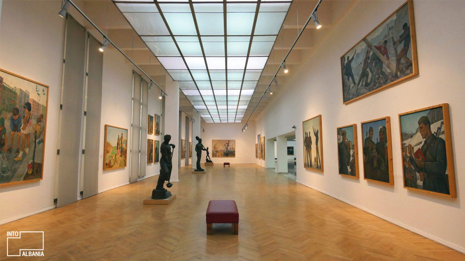 National Gallery of Arts, Tirana, photo by IntoAlbania