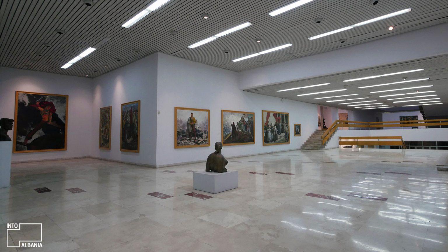 National Gallery of Arts, Tirana, photo by IntoAlbania.