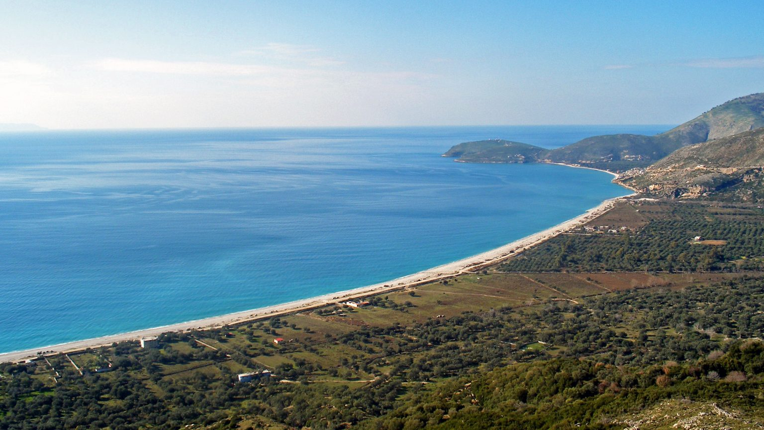 Borsh Beach, Himara, Source: wikimedia.org, Godo Godaj
