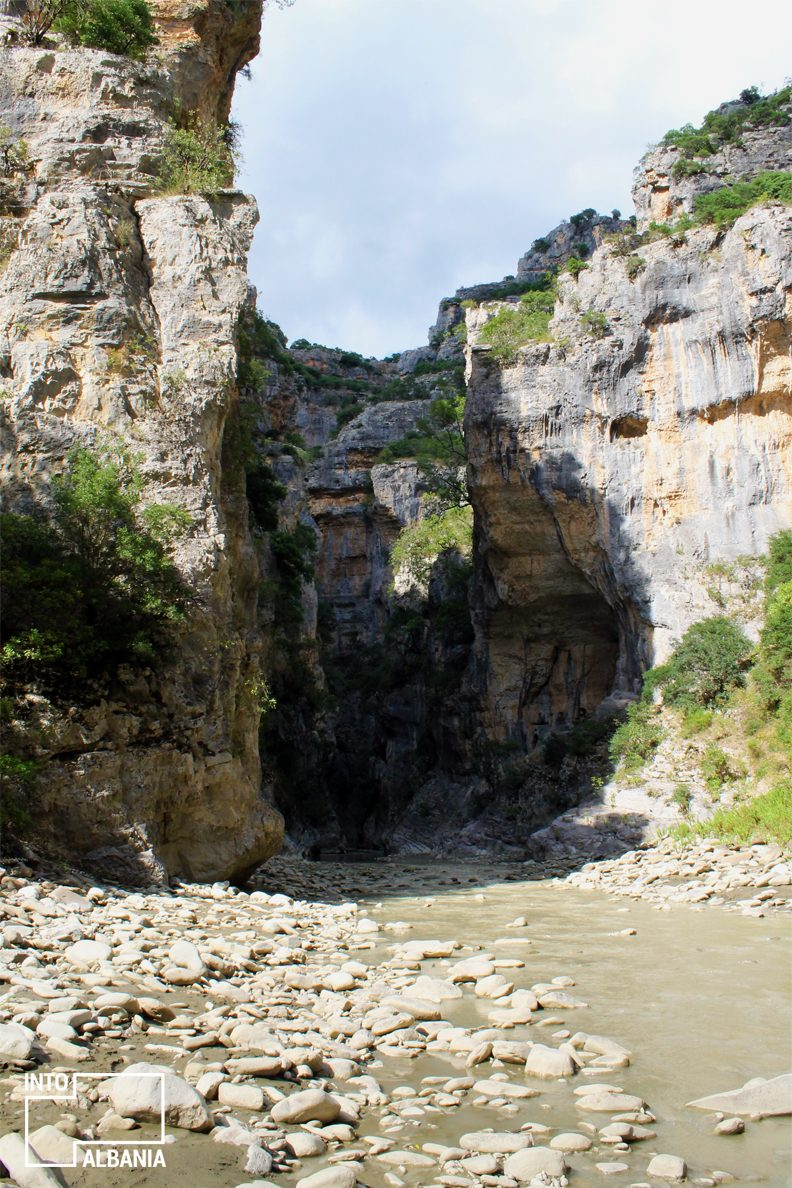 Lengarica Canyon in Përmet, Gjirokastra, photo by IntoAlbania