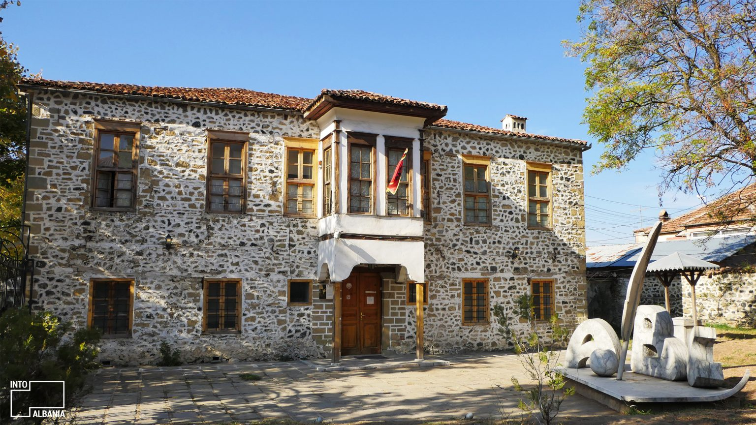 Museum of the First Albanian School, Korça, photo by IntoAlbania.