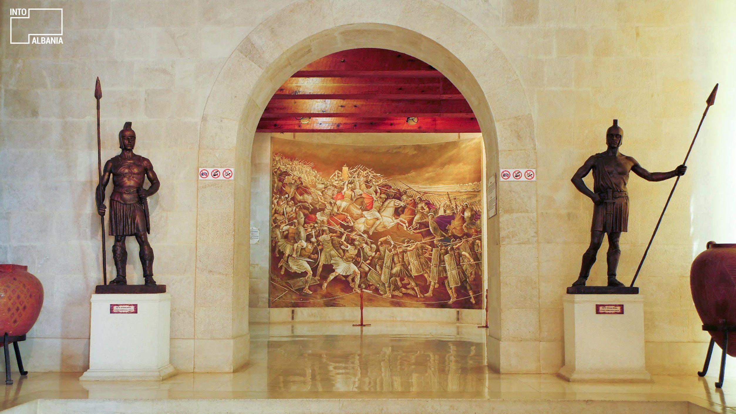 Skanderbeg Museum, Kruja, photo by IntoAlbania