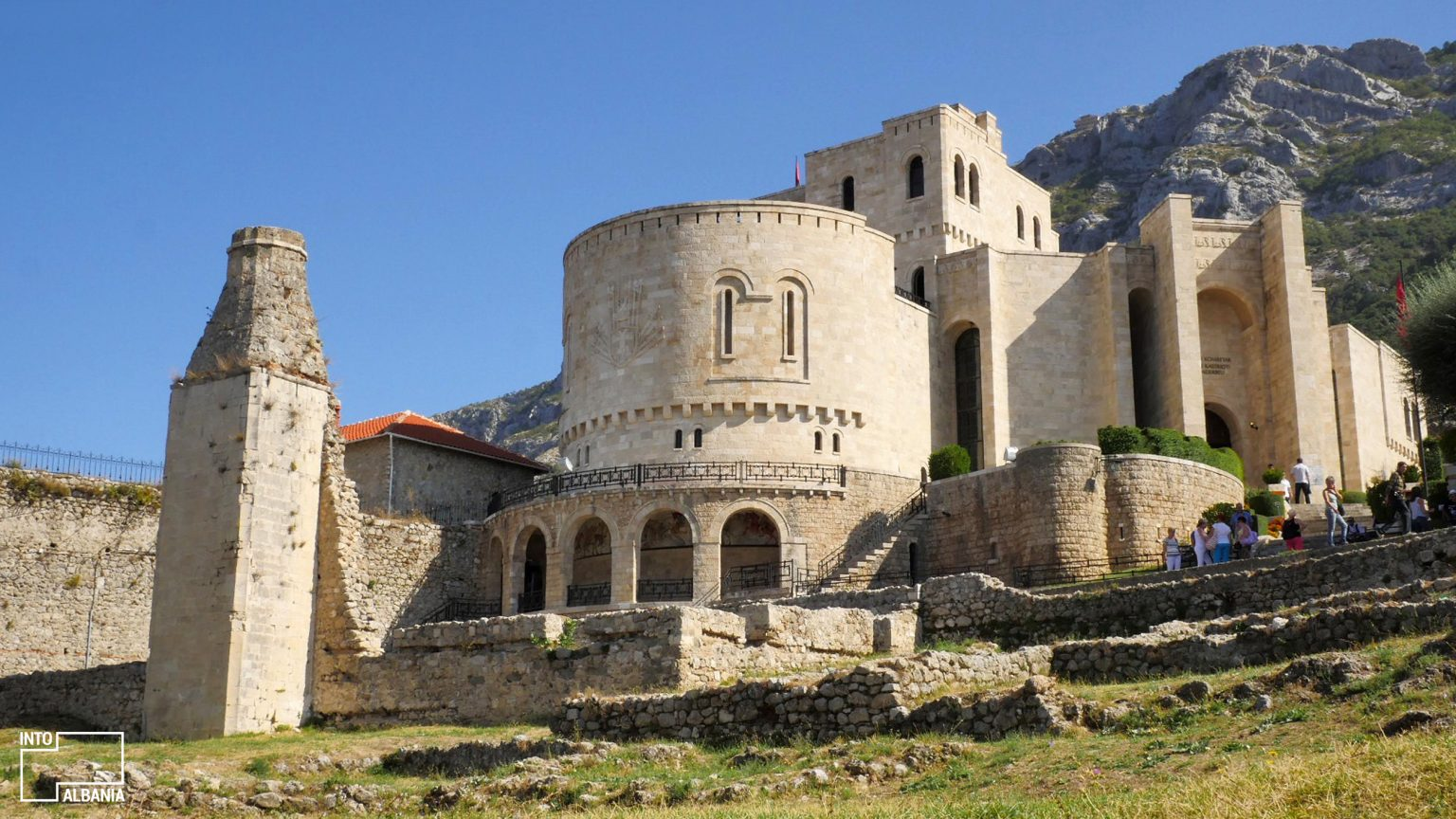 Skanderbeg Museum, Kruja, photo by IntoAlbania