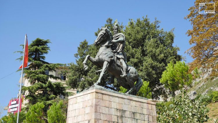 The Skanderbeg Monument