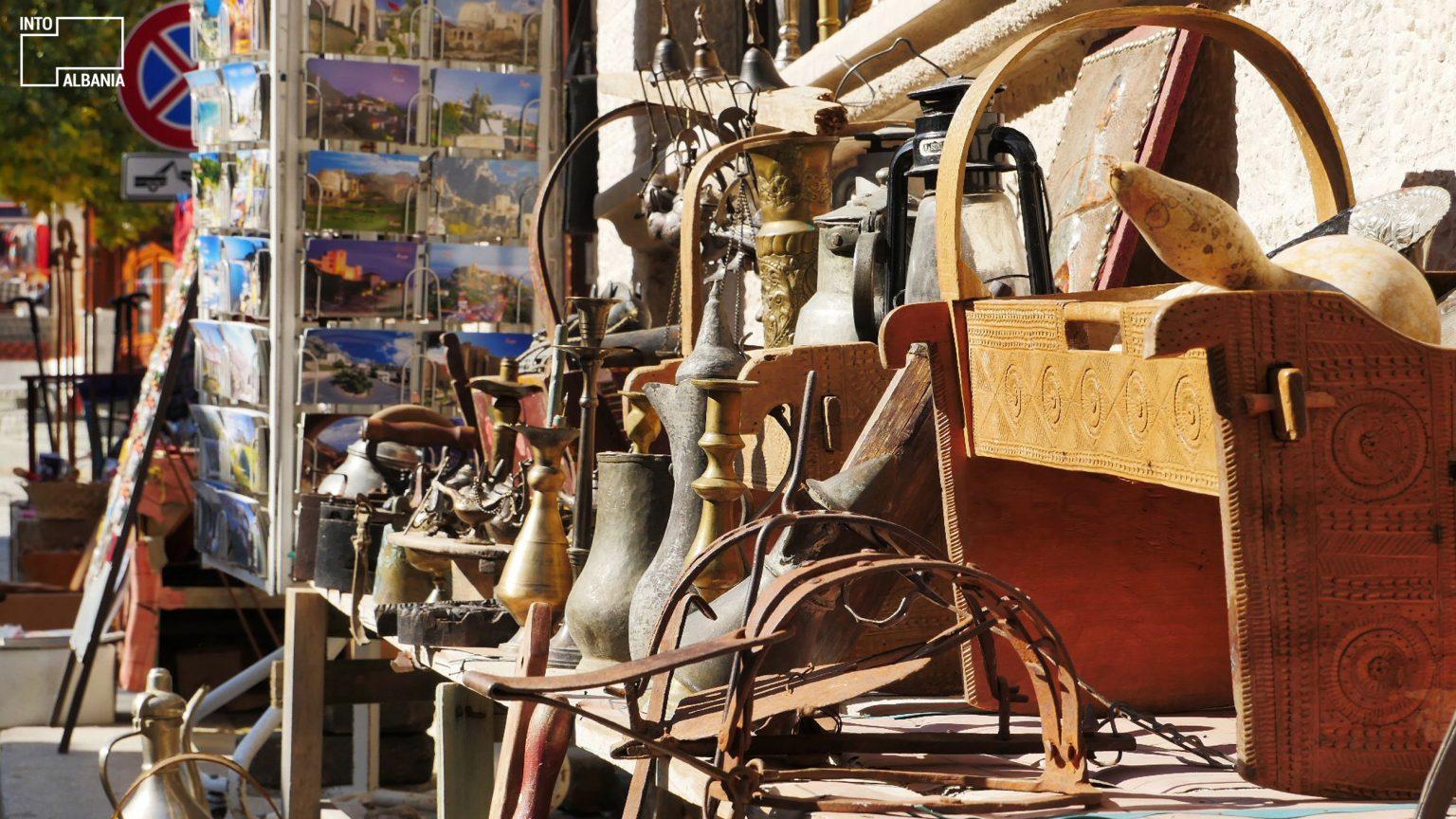 Old Bazaar of Kruja, photo by IntoAlbania