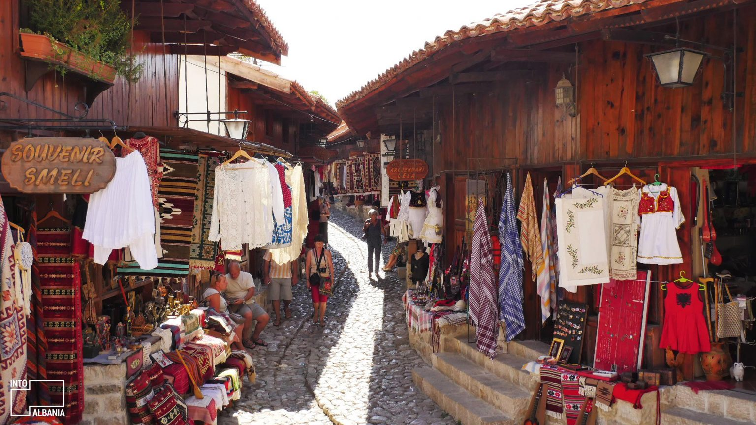 Old Bazaar of Kruja, photo by IntoAlbania