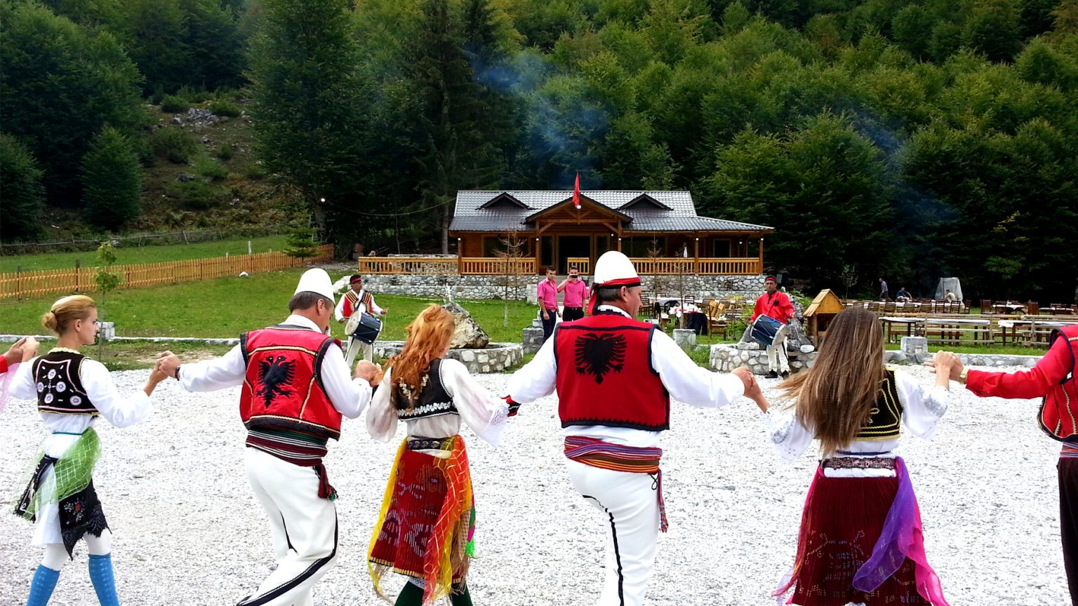 Traditional North Dance in Valbona, photo by IntoAlbania