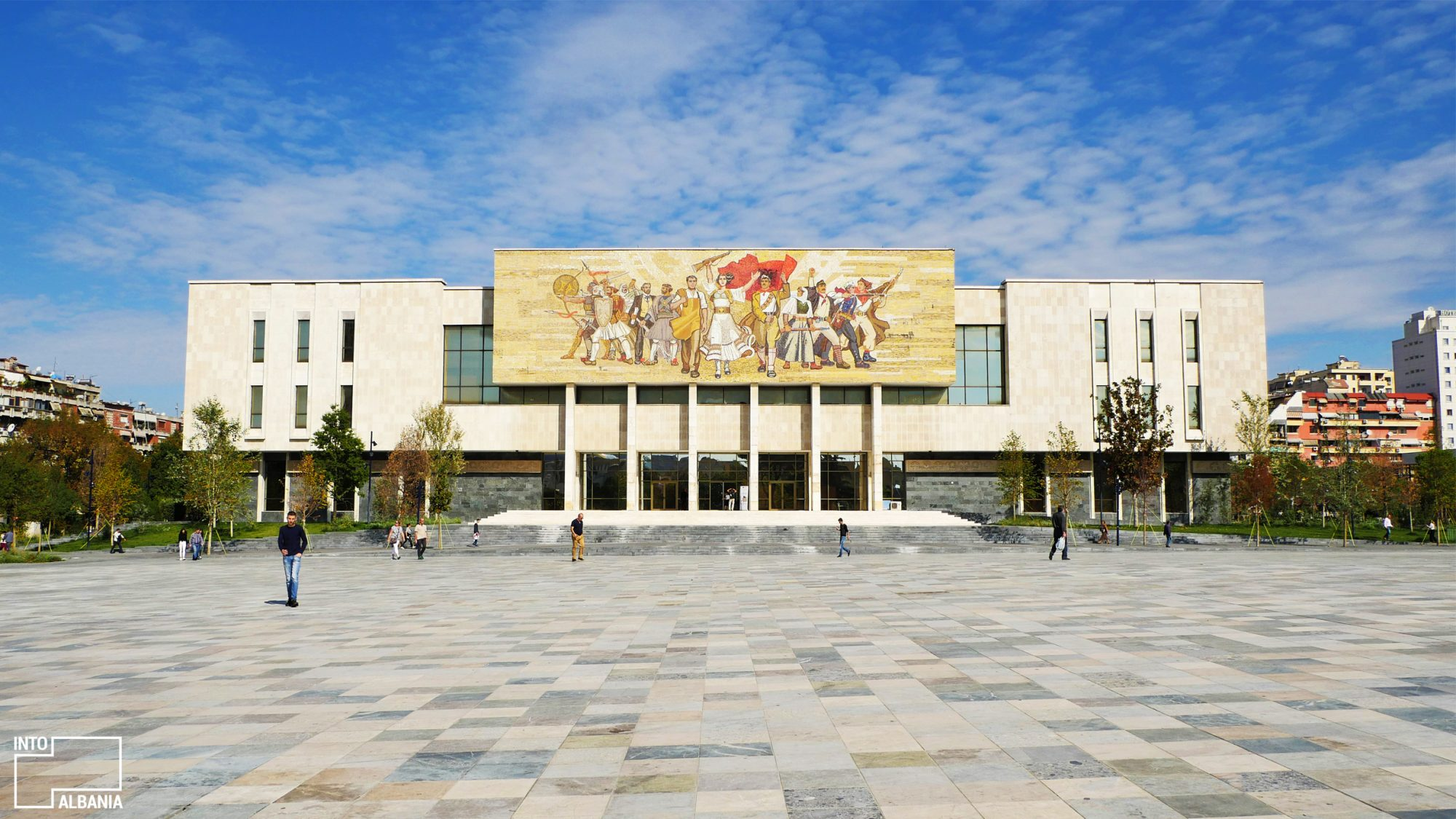 The National Hictorical Museum -Tiranë