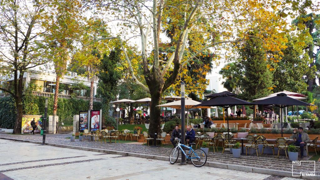 Tirana's Promenade