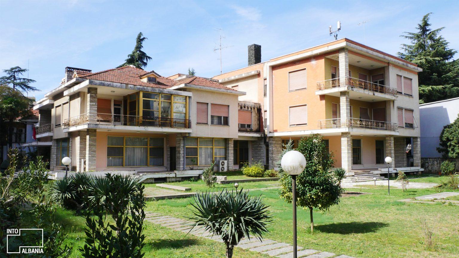Enver Hoxha's Villa, Tirana, photo by IntoAlbania