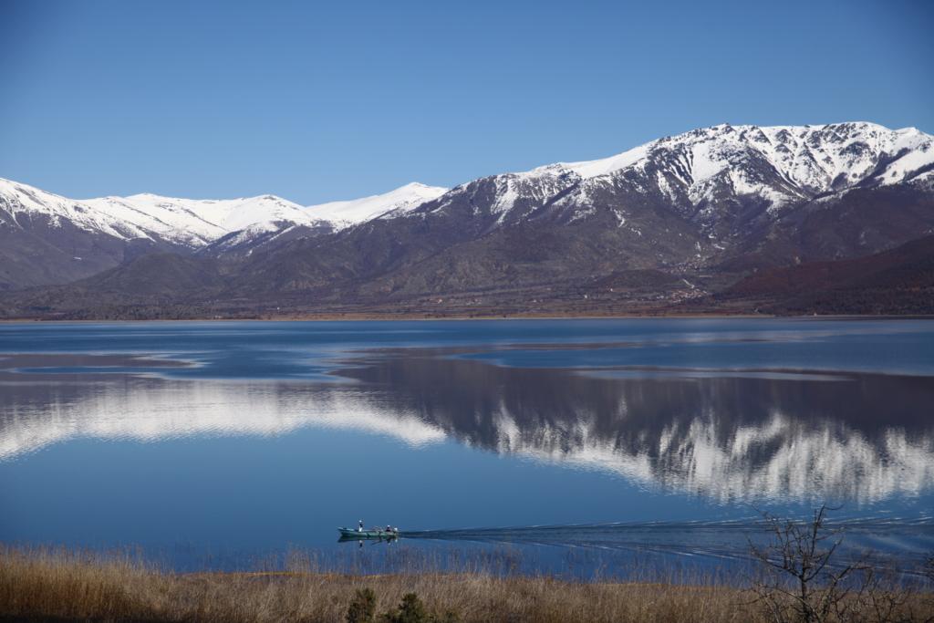Liqeni i Prespës, Korçë, foto nga IntoAlbania