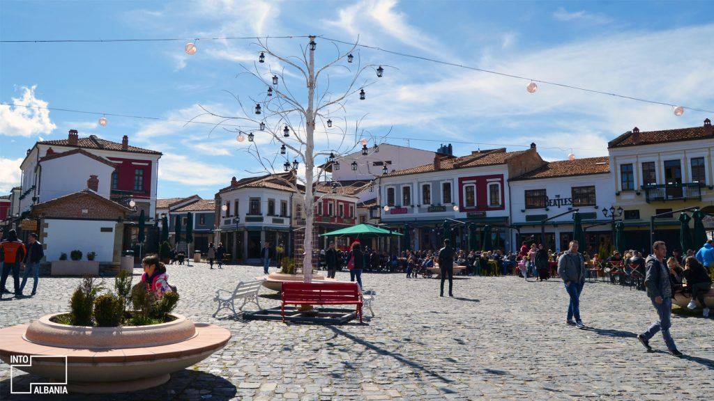 Baret dhe restorantet në Korçë, Pazari i Korçës