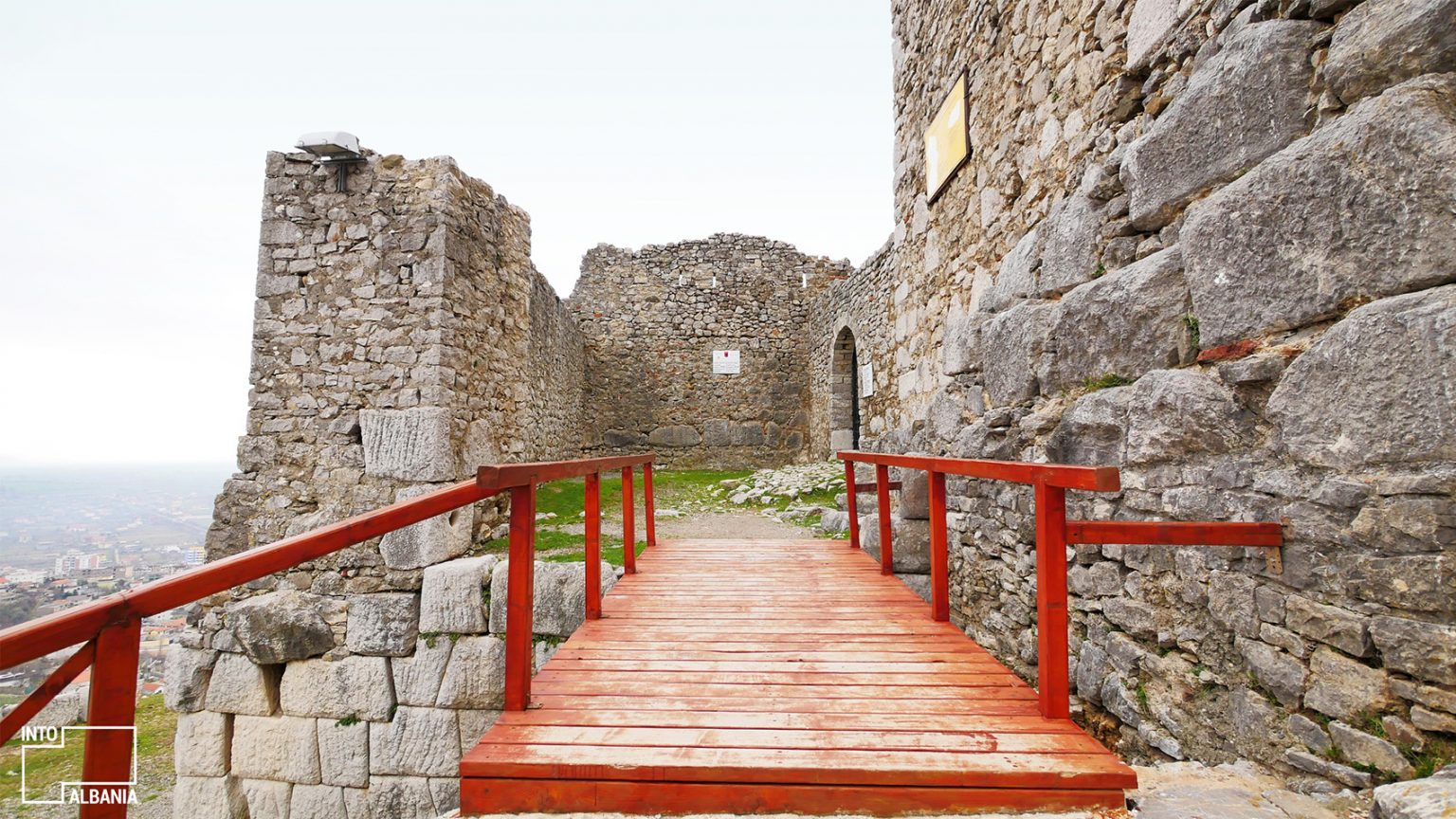 Castle of Lezha, photo by IntoAlbania