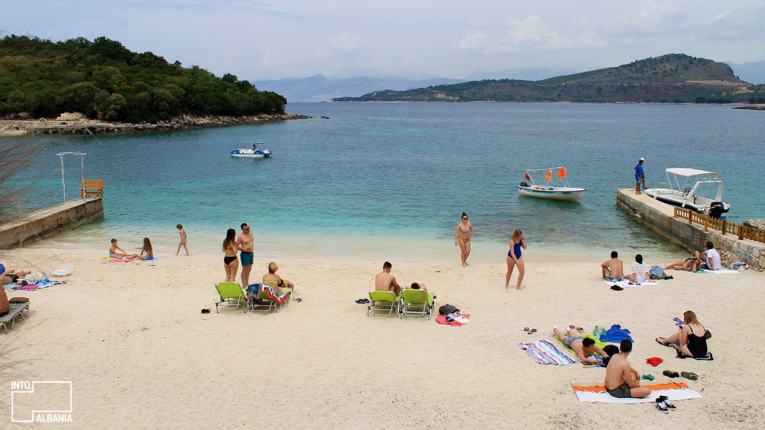 The Twin Islands of Ksamil, Saranda, photo by IntoAlbania