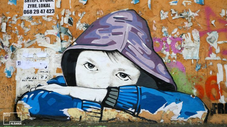Tirana, Street Art, Graffiti