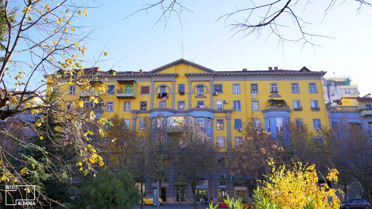 "Tirana, ""Agimi"" buildings"