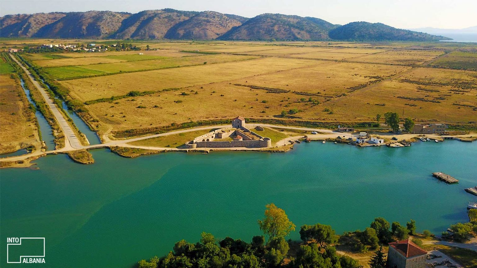 Vivari Castle, Butrint National Park, South Albania