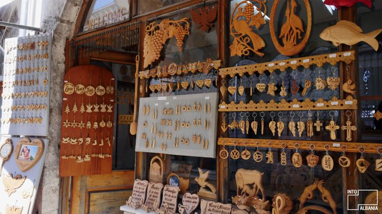 Wood Carving in Gjirokaster Bazaar