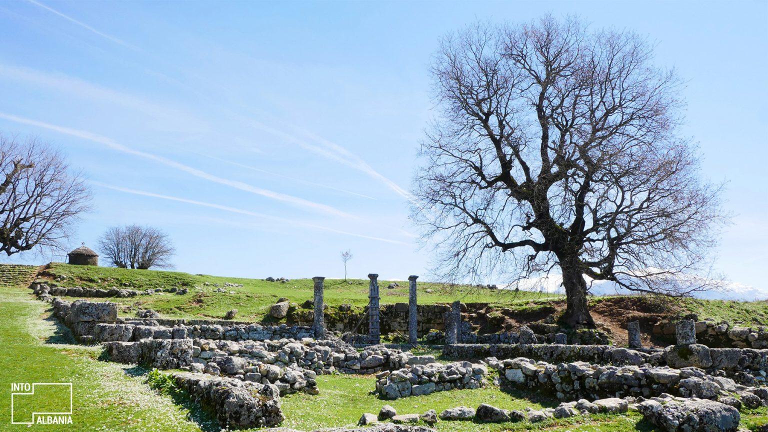 Archeological Park of Antigoena, Gjirokastra, photo by IntoAlbania