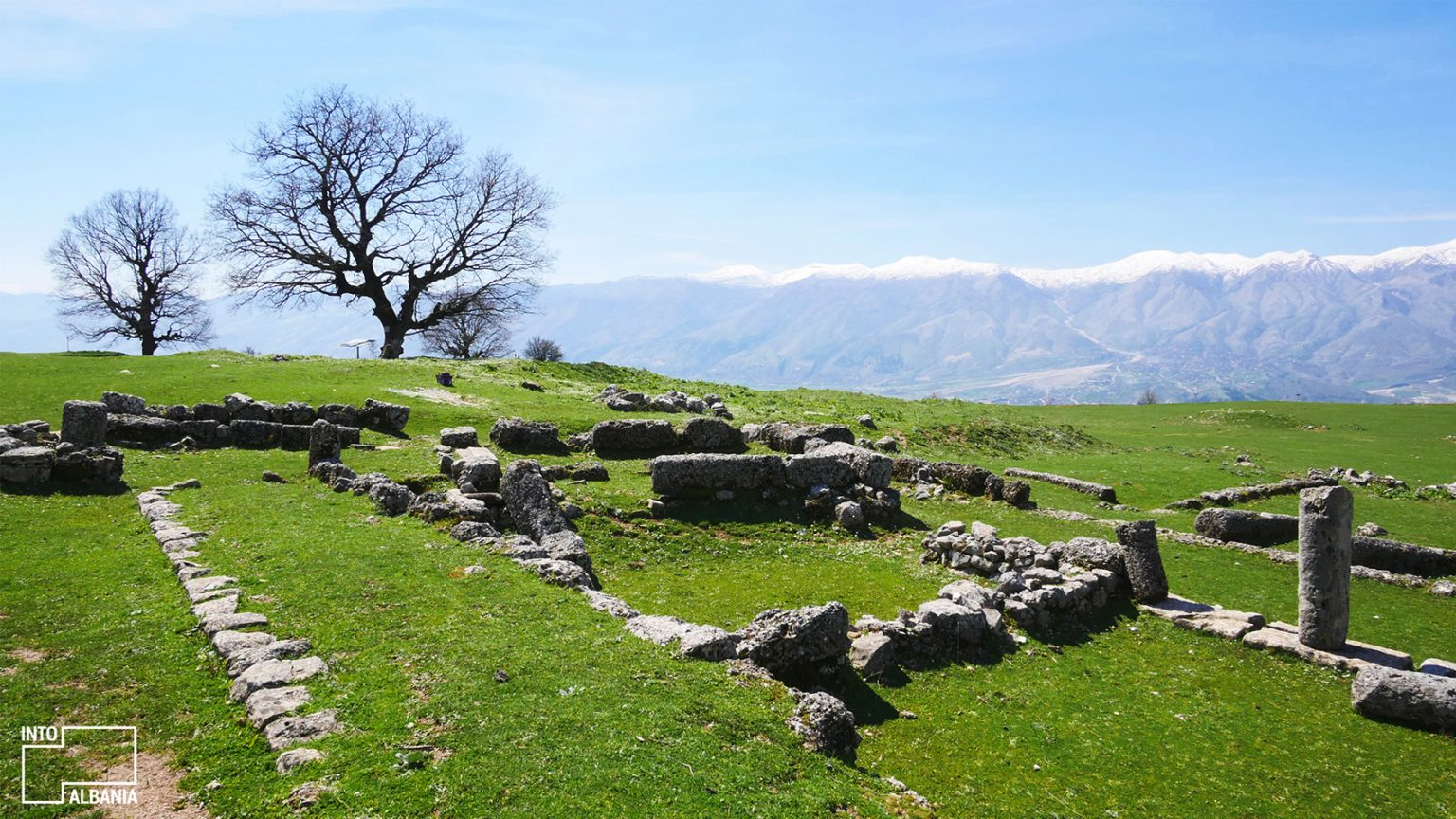 Archeological Park of Antigoena, Gjirokastra, photo by IntoAlbania